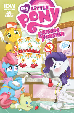 Friends Forever issue 19 cover A