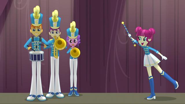 """File:Drum majorette singing """"at the end"""" EG3.png"""