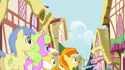 French My Little Pony Pinkie The Party Planner Song HD
