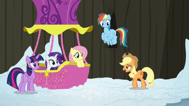File:Main ponies return to the Twinkling Balloon S7E11.png