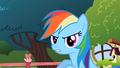 Rainbow Dash sounded like Pinkie Pie S2E10.png