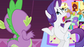 Rarity 'since the beginning of time' S4E13.png
