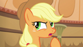 "Applejack ""would be better off if they left"" S6E20.png"