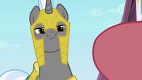 Guard doubting Rarity S2E9