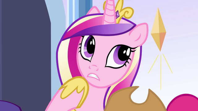 "File:Princess Cadance ""Flash Sentry I think"" EG.png"