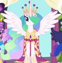 Princess Celestia coronation dress ID S3E13
