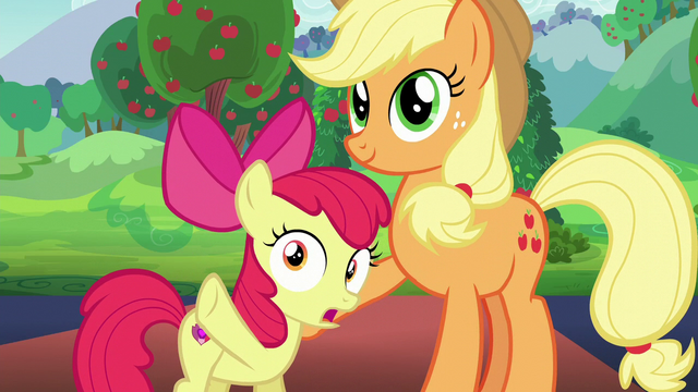 "File:Apple Bloom ""you wrote to Countess Coloratura..."" S5E24.png"