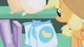 Applejack looks at bag of potato chips S1E04.png