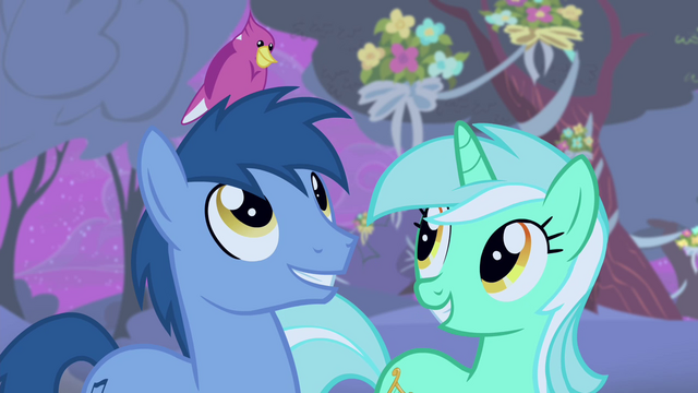 File:Noteworthy with a bird on his head S4E14.png