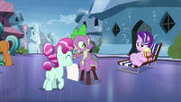 """Spike """"nervous about seeing Sunburst"""" S6E1"""