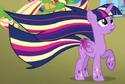 Twilight Sparkle's Rainbow Power form ID S4E26