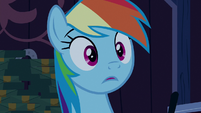 Rainbow Dash reduced to stuttering S6E15