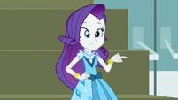 Rarity looking embarrassed EG3b