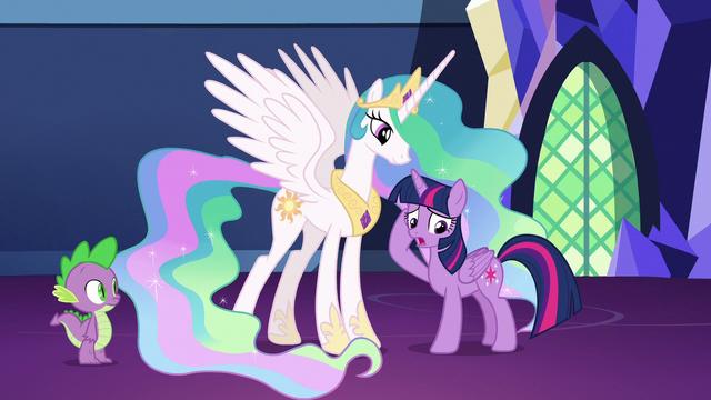 "File:Twilight Sparkle ""rethink, rethink, rethink!"" S7E1.png"