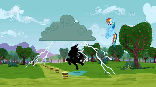 File:Applejack being struck by lightning 1 S3E8.png
