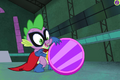 PPG ending - Spike with repaired reflector.png