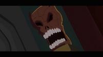 Spooky skull S2E16