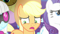 Applejack indecisive in the spotlight S7E9.png