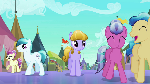 File:Crystal Ponies having fun at the Faire S3E01.png