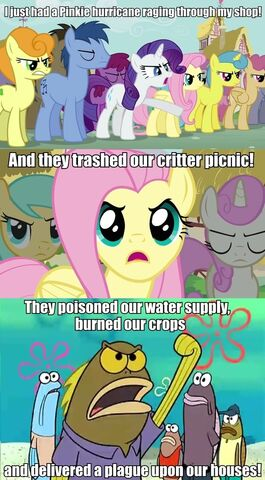 File:FANMADE Pinkie Pie complaints comic from Tumblr.jpg