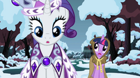 Rarity sees obstacle S2E11