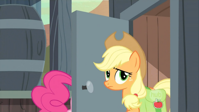 File:Applejack at the outhouse S2E14.png