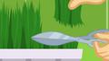 Applejack cutting grass with scissors SS9.png