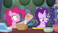 Pinkie Pie adding sugar to the batter S6E21.png