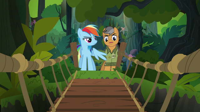 File:Rainbow and Quibble come to a rope bridge S6E13.png
