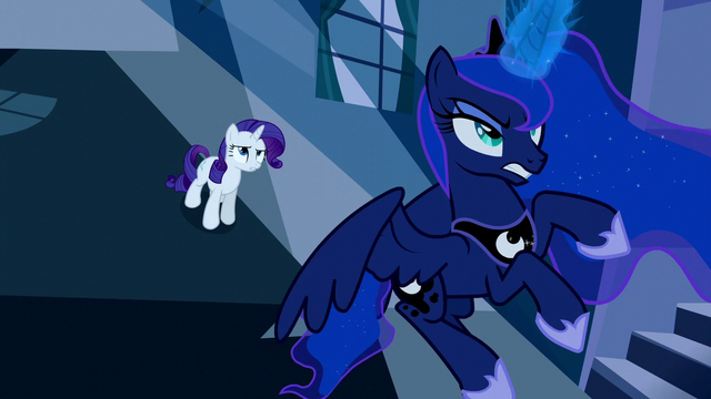 File:Rarity tells Princess Luna to go S5E13.png