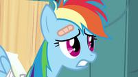 Worried Rainbow Dash S02E16