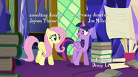 "Twilight ""been doing a ton of research"" S5E23"