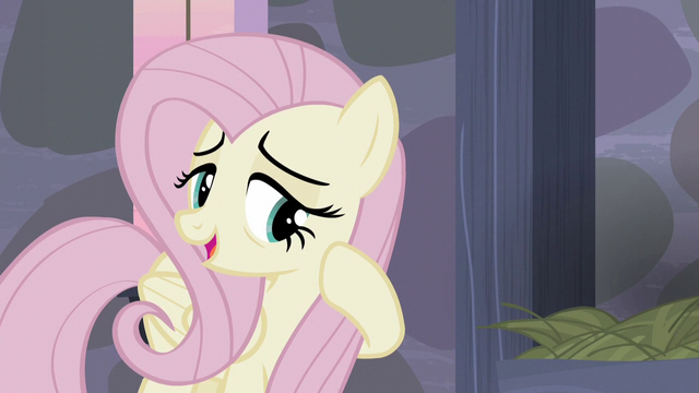 "File:Fluttershy ""They've been so welcoming and friendly"" S5E02.png"