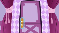 Boutique sewing room door closes S7E9