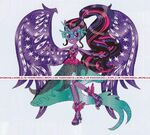 Equestria Girls Midnight Magic Twilight Sparkle artwork