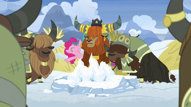 """File:Pinkie Pie """"a yak tradition, right?"""" S7E11.png"""