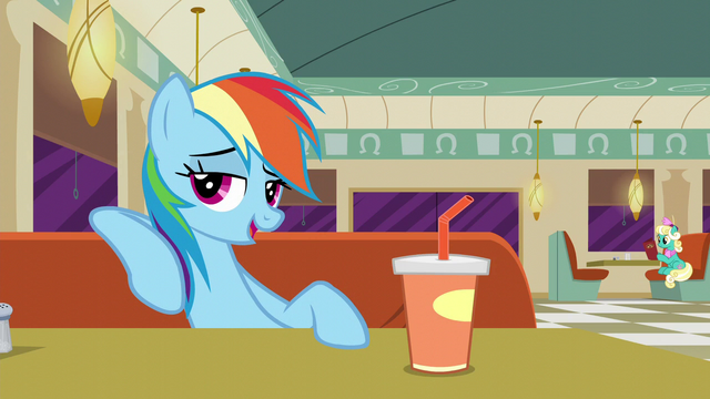 """File:Rainbow """"I think everypony's allowed to mess up"""" S6E9.png"""