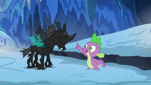 """File:Spike """"it is!"""" S6E16.png"""