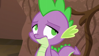 Spike rolling his eyes S5E22