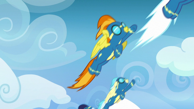 File:Wonderbolts flying up into the sky S7E7.png