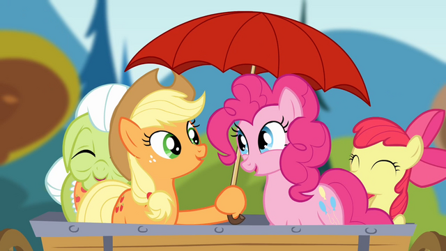 File:Applejack holding an umbrella S4E09.png