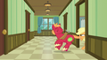 Applejack pulls Big Mac into the room by his tail S6E23.png