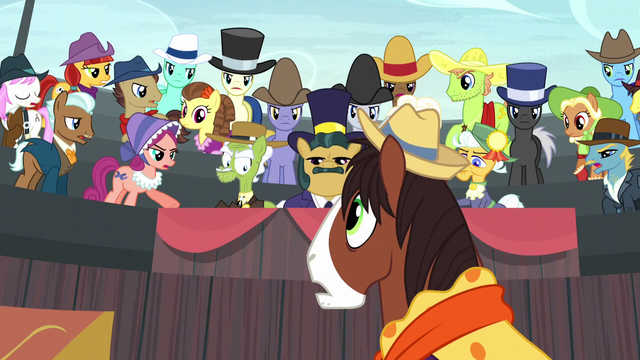 File:Spectator ponies turn on Trouble Shoes S5E6.png