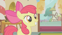 Apple Bloom having a big smile S1E12