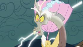 Discord with his umbrella S2E1