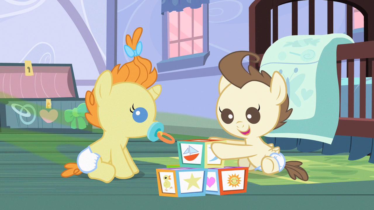 Imagen  Los Beb Cake jugandopng  My Little Pony La Magia de