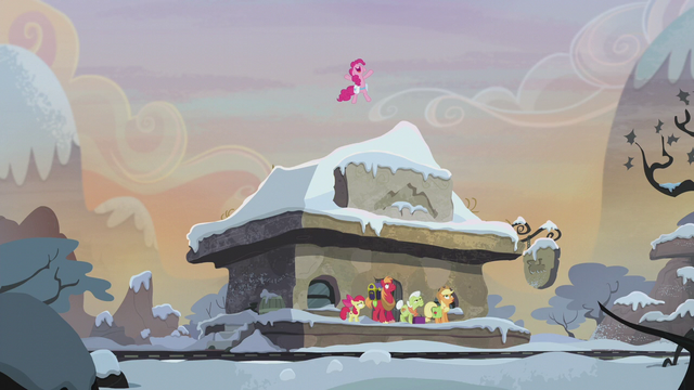 File:Pinkie Pie jumping on train station roof S5E20.png