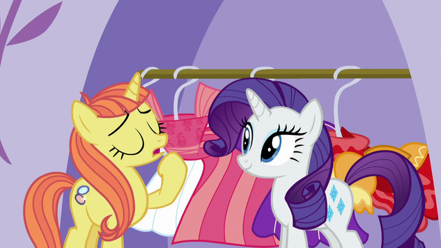 "File:Fashionable Pony ""it totally clashes with my complexion"" S5E14.png"
