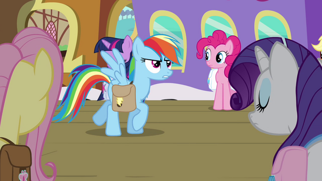 "File:Rainbow Dash ""they've had enough bad news"" S03E12.png"