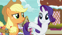 "Rarity ""what makes her an inspired choice!"" S7E9"